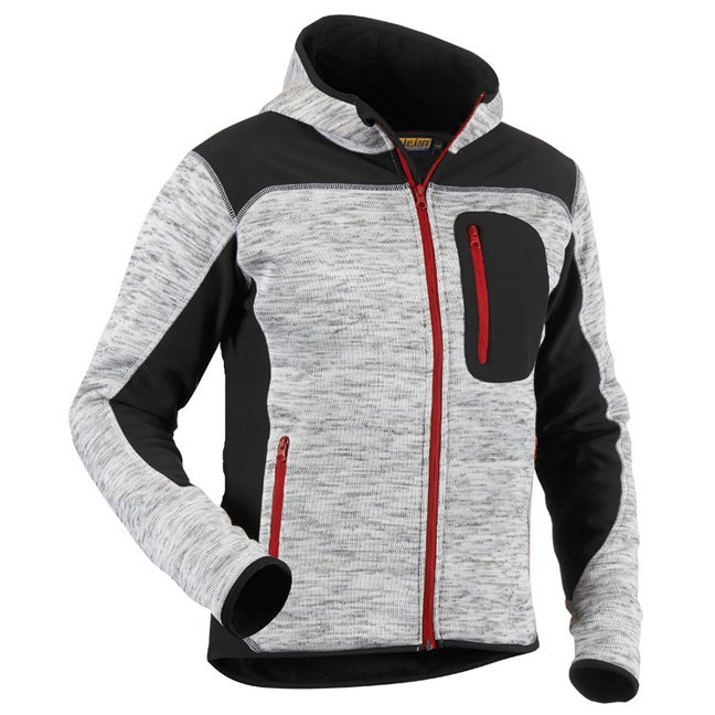 Blaklader 4930 Performance Hoodie Grey Black