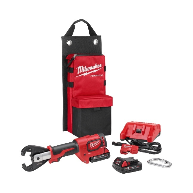 Milwaukee 2678-22K M18 Force Logic 6T Utility Crimper