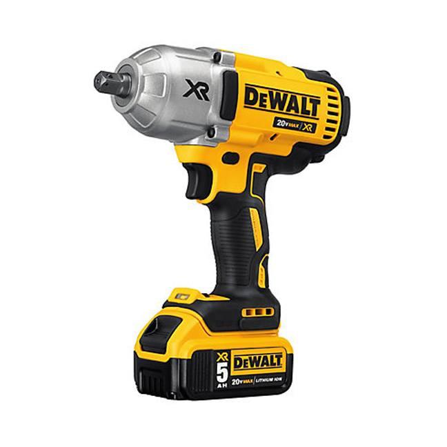 DeWalt DCF899P2 20V MAX XR Brushless Impact Wrench Kit Angle