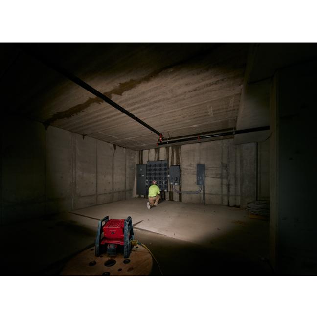 Milwaukee 2360-20 M18 TRUEVIEW LED HP Flood Light In Use