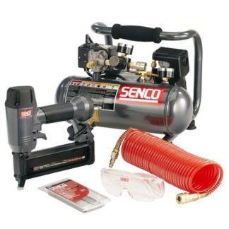 "Senco PC0947 2"" FinishPro18 Brad Nailer and Compressor Kit"