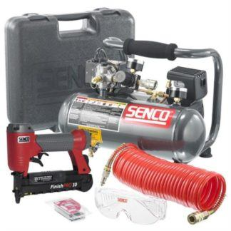 "Senco PC0974 1"" Micro Pinner and Compressor Kit"
