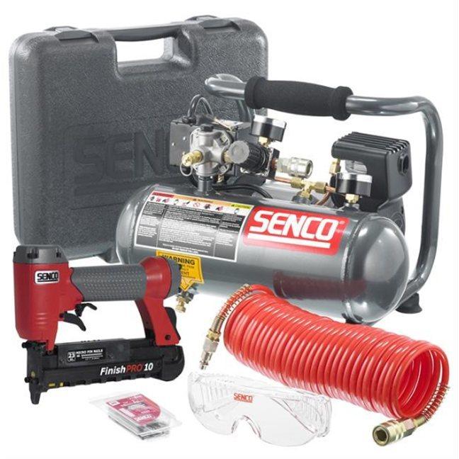 Senco Pc0974 1 Micro Pinner And Compressor Kit