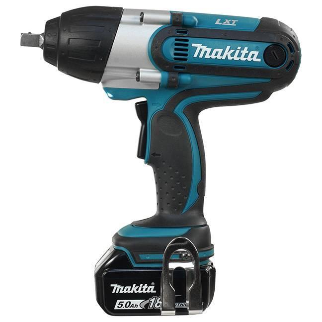 """Makita DTW450XRTE 18V LXT 1/2"""" Impact Wrench Kit"""