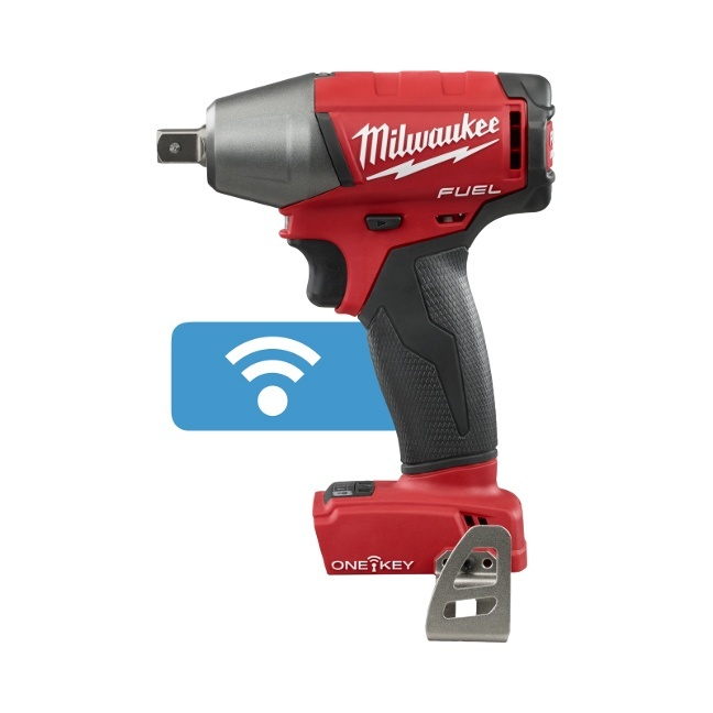 "Milwaukee 2759-20 M18 FUEL 1/2"" Impact Wrench with ONE-KEY"