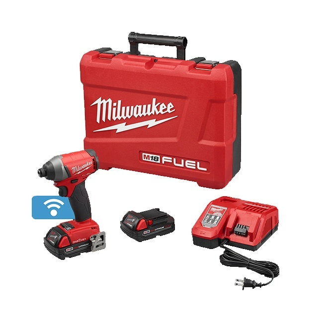 "Milwaukee 2757-22CT M18 FUEL 1/4"" Impact Driver with ONE-KEY Kit"