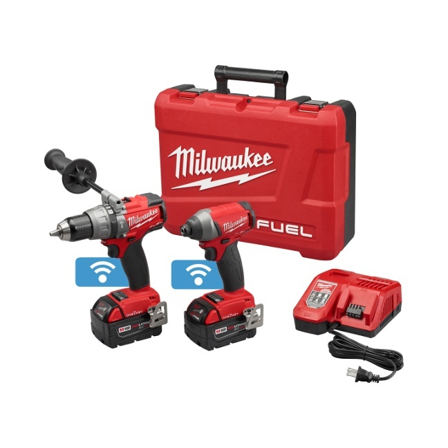 Milwaukee 2795-22 M18 FUEL 2-Tool Combo Kit with ONE-KEY