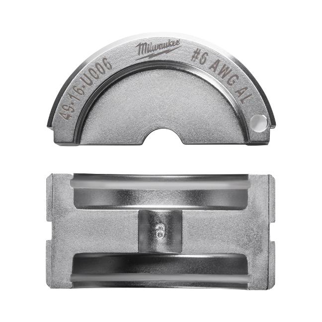 Milwaukee 49-16-U006 #6 Aluminum U Style Die