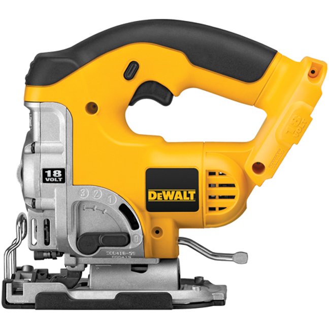DeWalt DC330B 18V Jig Saw with Keyless Blade Change