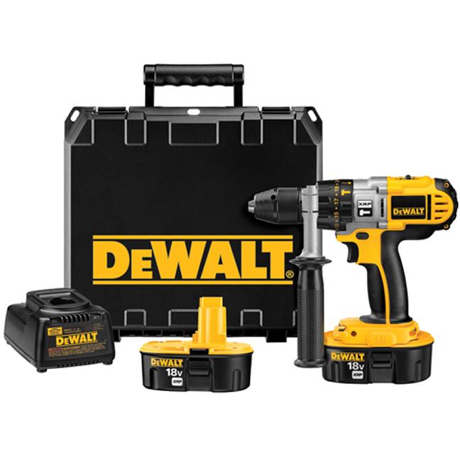 """DeWalt DCD950KX 1/2"""" 18V XRP Hammerdrill Drill Driver Kit"""