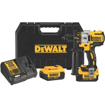 DeWalt DCD990M2 20V MAX XR Brushless Premium 3-Speed Drill Driver Kit