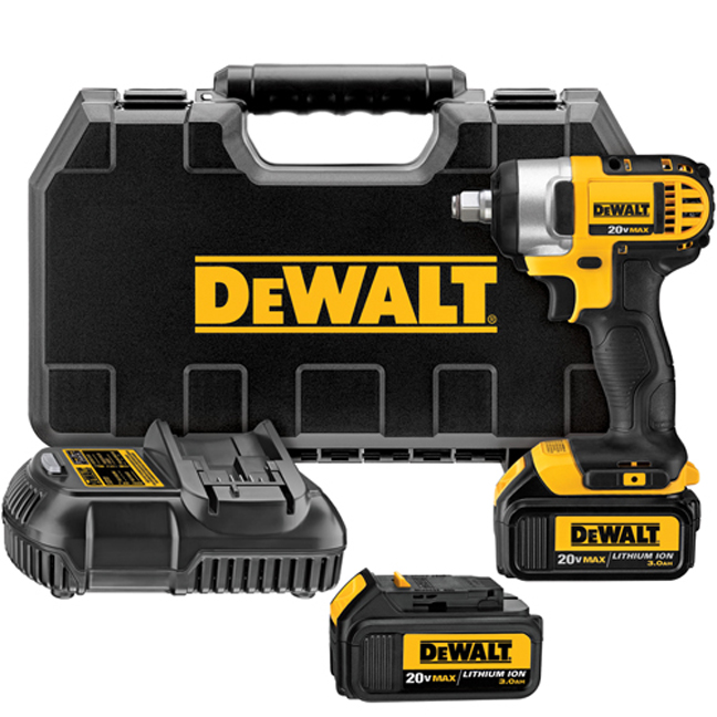"DeWalt DCF880HM2 20V MAX 1/2"" Impact Wrench Kit"