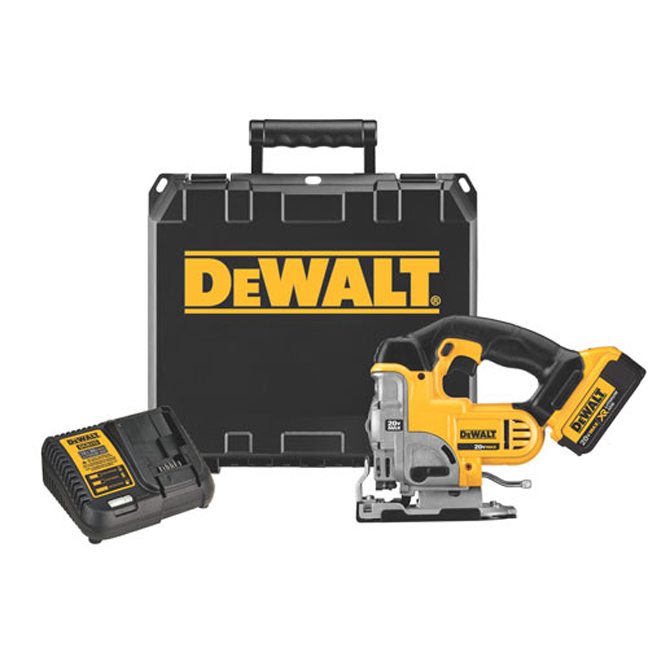 DeWalt DCS331M1 20V MAX Jig Saw Kit