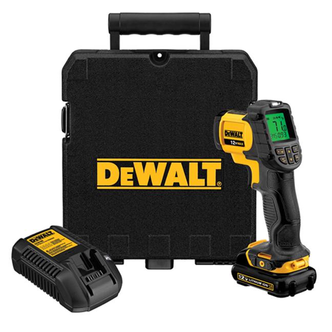 DeWalt DCT414S1 12V MAX Infrared Thermometer Kit