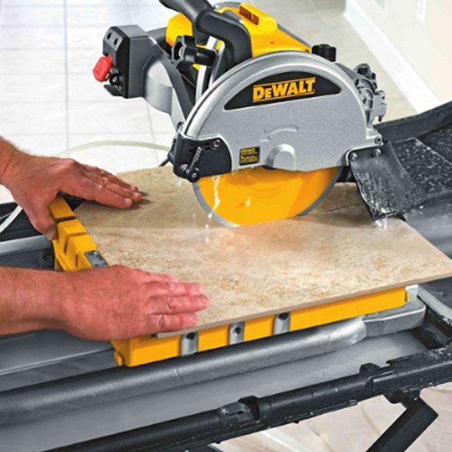 DeWalt D24000 Wet Tile Saw 6