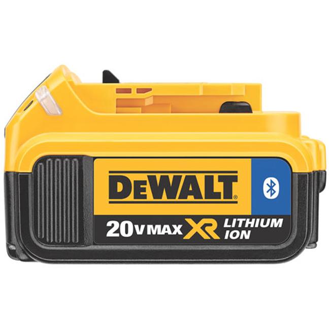 DeWalt DCB204BT 20V MAX XR Battery with Bluetooth