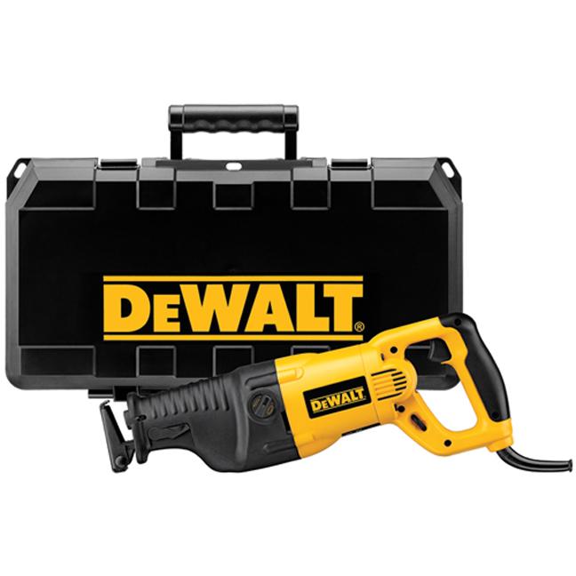 DeWalt DW311K 13 Amp Reciprocating Saw Kit