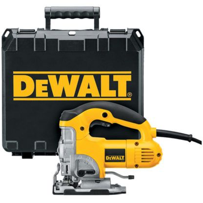 DeWalt DW331K Top-Handle Jig Saw Kit