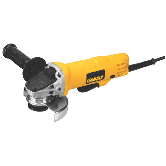 De Walt Electric Grinder ~ Dewalt dwe  quot small angle grinder w paddle switch
