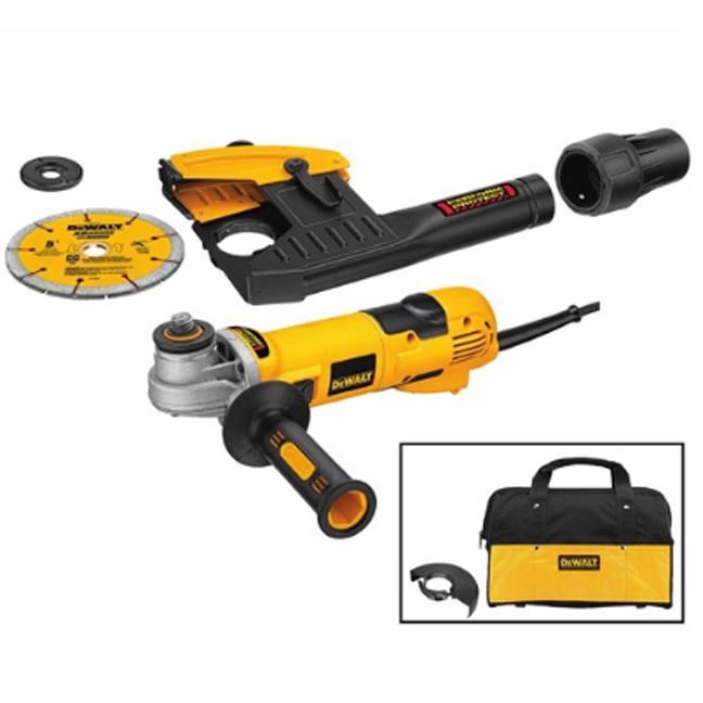DeWalt DWE46101 Cutting & Tuckpointing Dust Shroud Tool Kit 2