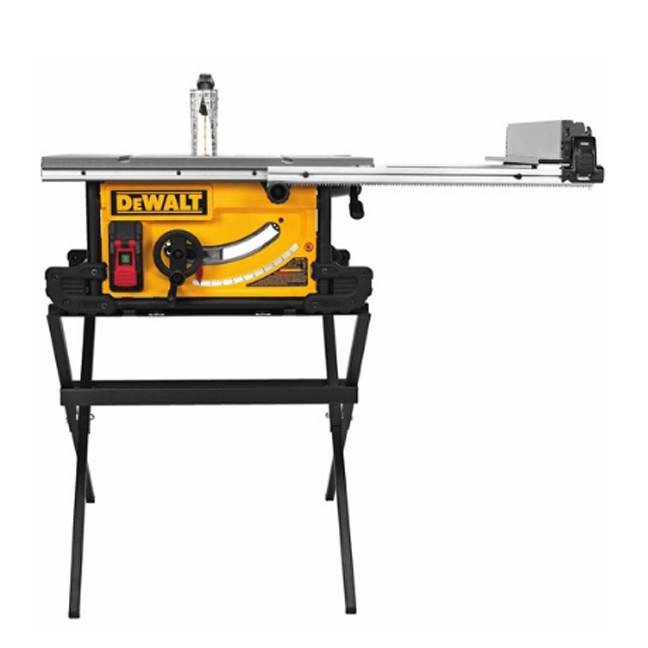 DeWalt DWE7490X Job Site Table saw with Scissor Stand 2