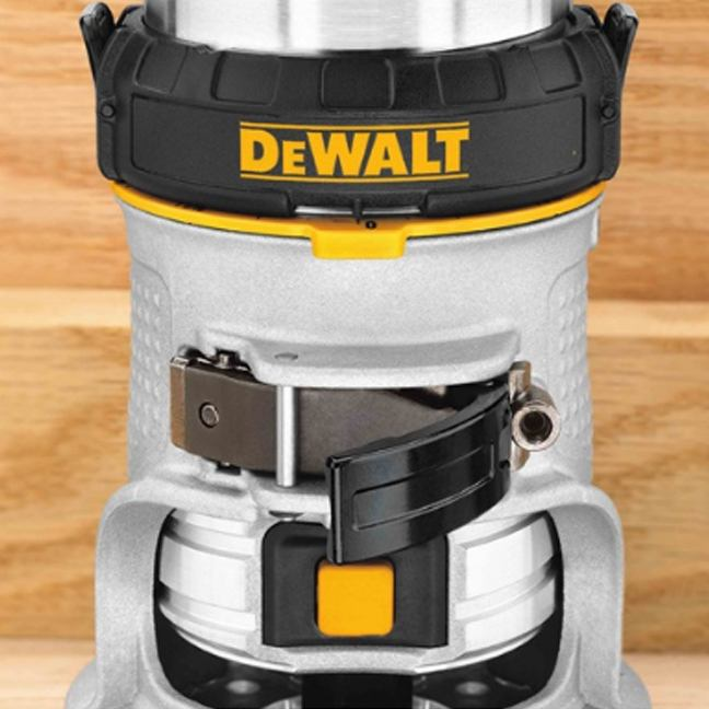 DeWalt DWP611 Max Torque Variable Speed Compact Router with LED's 5