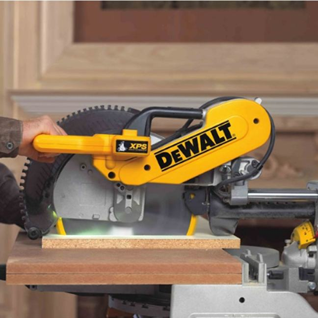 DeWalt DWS780LST Mitre Saw with Long Stand 3