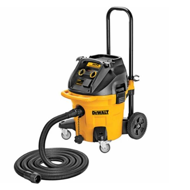 DeWalt DWV012 10 Gallon Wet Dry HEPA Dust Extractor with Automatic Filter Cleaning 4