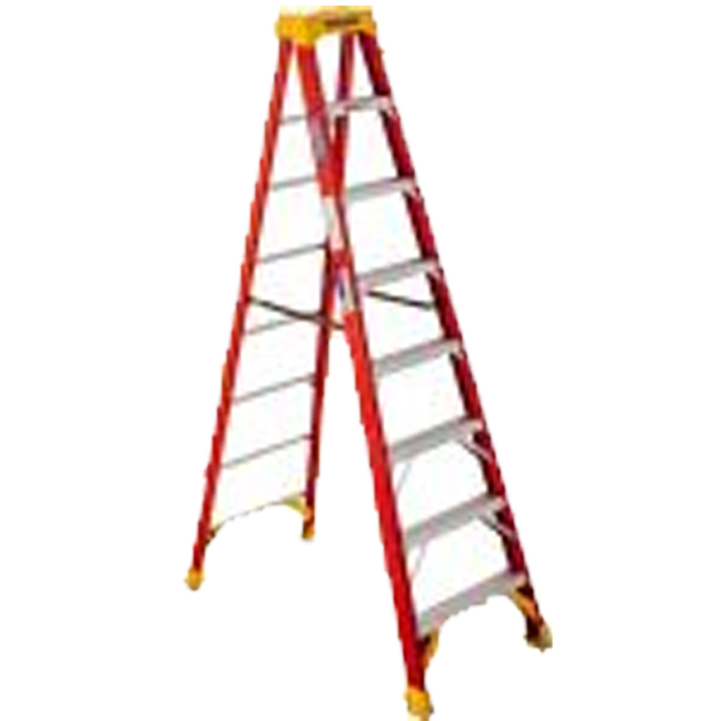 Werner 6208CA 8FT Type IA Fiberglass Stepladder