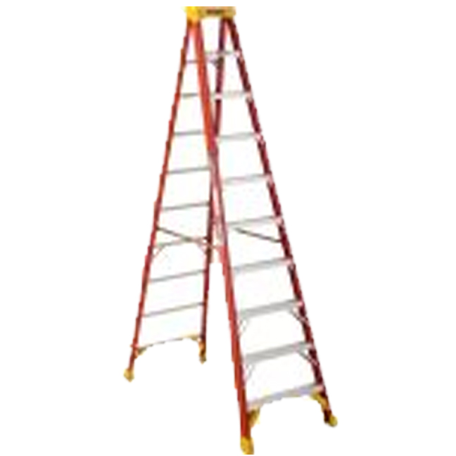 Werner 6210CA 10FT Type IA Fiberglass Stepladder