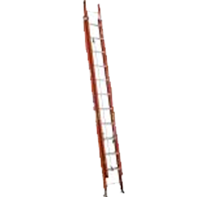 Werner D6224-2CA 24FT Type IA Fiberglass D-Rung Extension Ladder