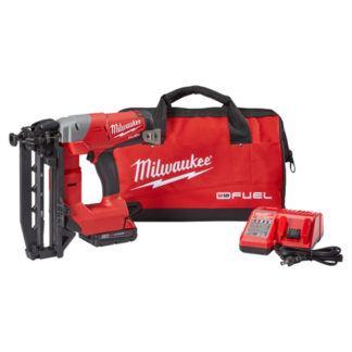 Milwaukee 2741-21CT M18 FUEL 16ga Straight Finish Nailer Kit
