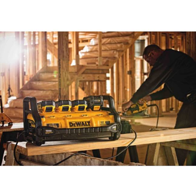 DeWalt DCB1800M3T1 1800 Watt Portable Power Station Kit 5