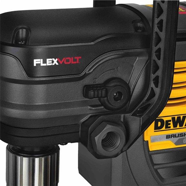 DeWalt DCD460T1 FlexVolt 60V Max VSR Stud & Joist Drill Kit Close Up 1