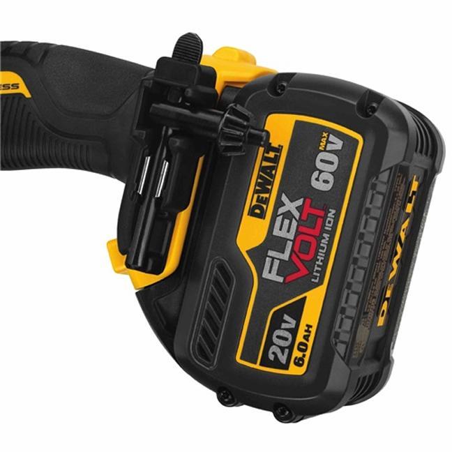 DeWalt DCD460T1 FlexVolt 60V Max VSR Stud & Joist Drill Kit Close Up 2