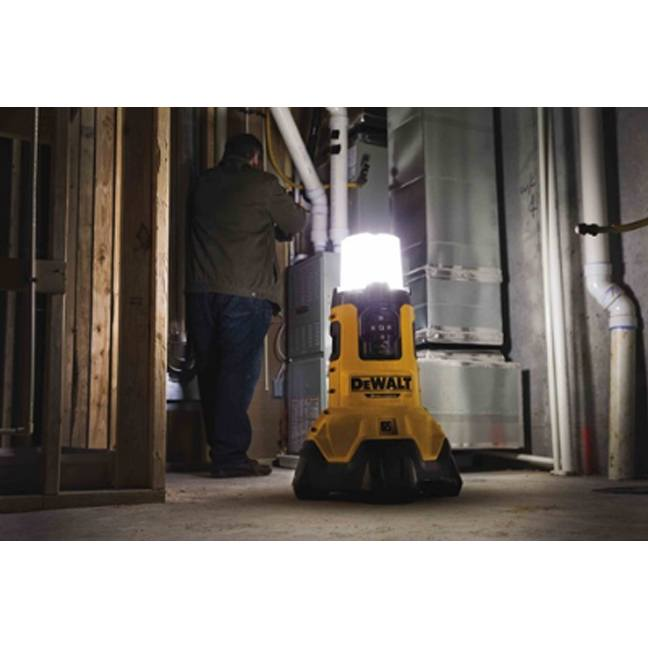 Dewalt Dcl070 20v Max Corded Cordless Bluetooth Area Light