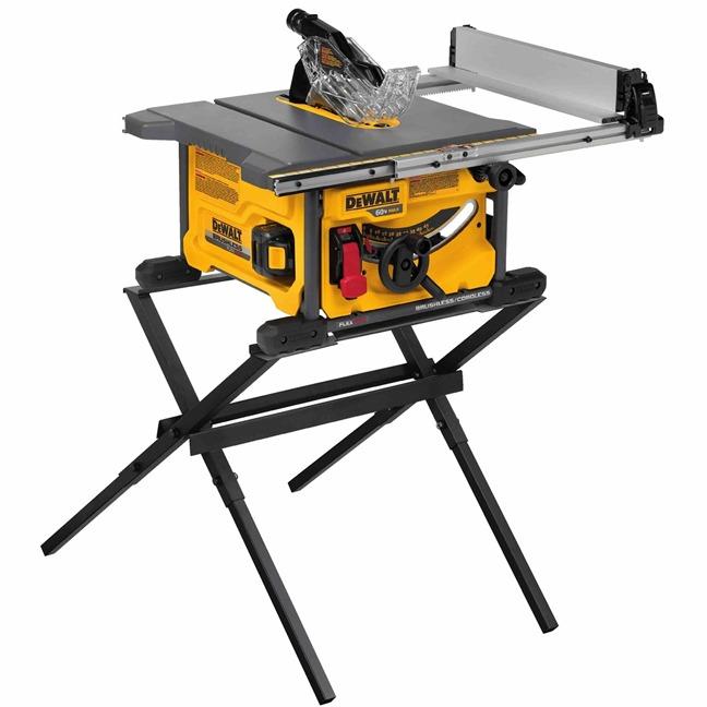 DeWalt DCS7485T1 FlexVolt 60V Max Table Saw Kit Stand
