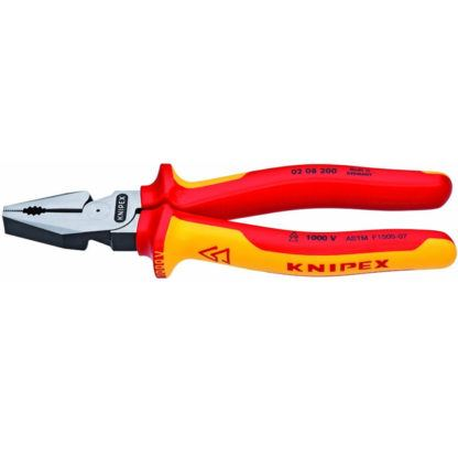 """Knipex 0208200US 8"""" High Leverage Combination Pliers"""