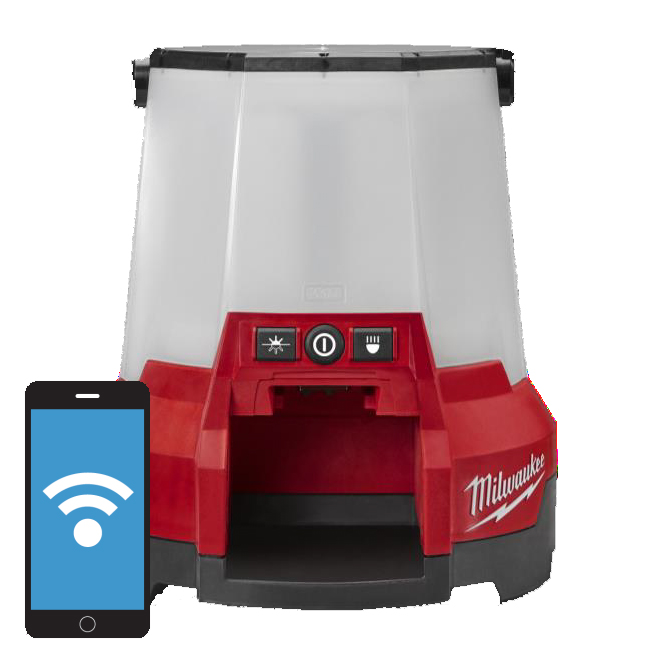Milwaukee 2146-20 M18 RADIUS LED Compact Site Light with One Key