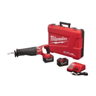 Milwaukee 2721-22HD M18 FUEL SAWZALL Reciprocating Saw with ONE-KEY HD 9.0 Kit
