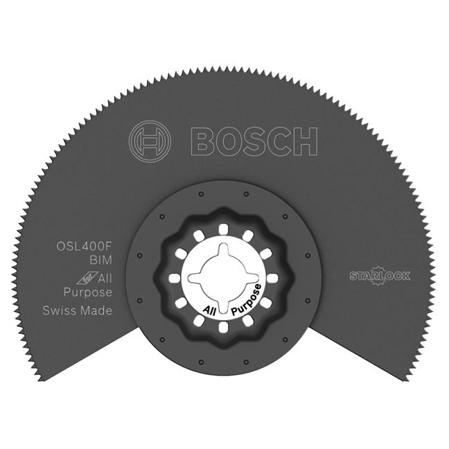 "Bosch OSL400F 4"" Starlock Bi-Metal Segmented Saw Blade"