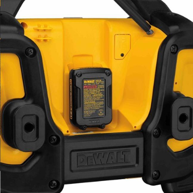 DeWalt DCR025 Jobsite Bluetooth Radio Charger 6