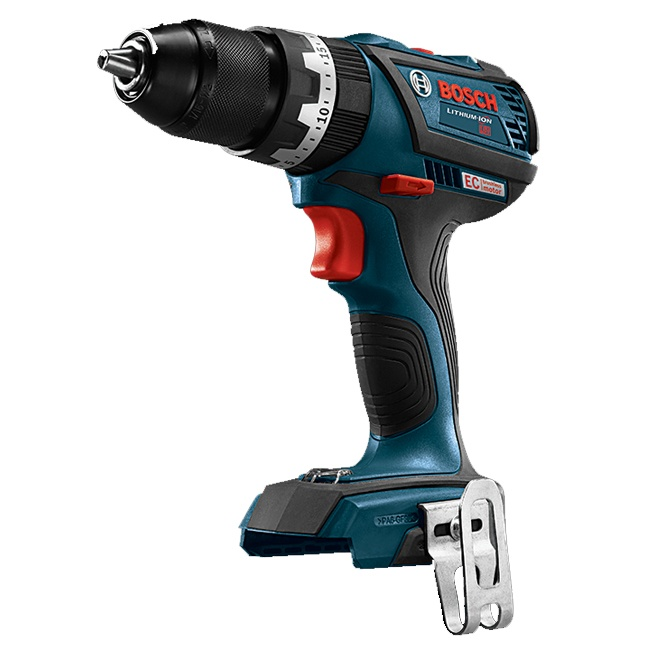 "Bosch DDS183B 18V EC Brushless Compact Tough 1/2"" Drill Driver"