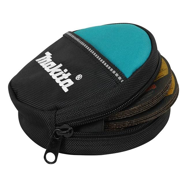 "Makita T-03165 4-1/2""-5"" Abrasives Zip Top Pouch"