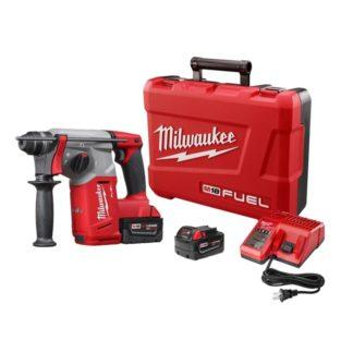 "Milwaukee 2712-22HD M18 Fuel High Demand 1"" SDS Plus Rotary Hammer Kit"