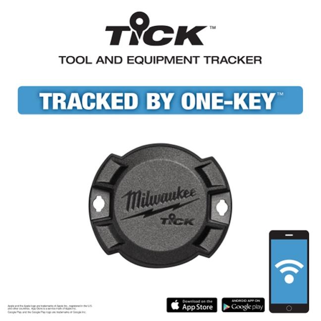Milwaukee 48-21-2000 Tick Tool & Equipment Tracker – 1 Pack
