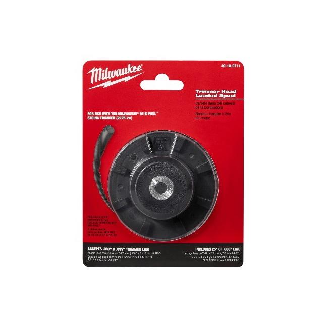 Milwaukeee 49-16-2711 Trimmer Head Loaded Spool