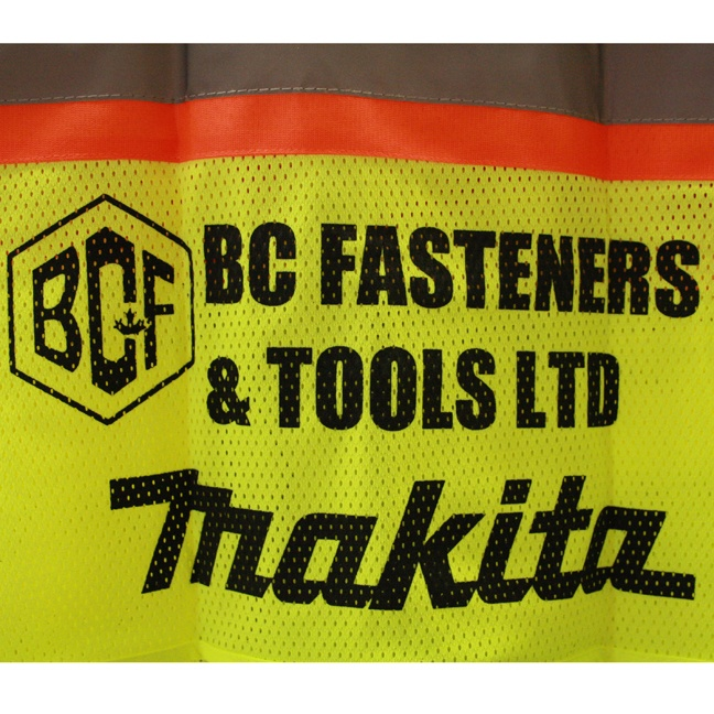 Pioneer 6951-MKT BC Fasteners Hi-Viz Safety Vest