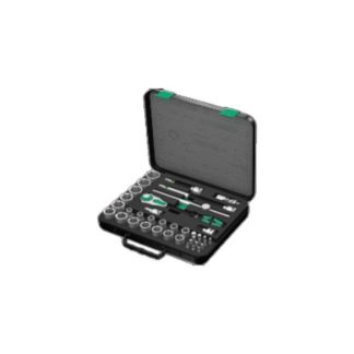 "Wera 003647 8100 SC 4 Zyklop Speed Ratchet Set 1/2"" Drive"