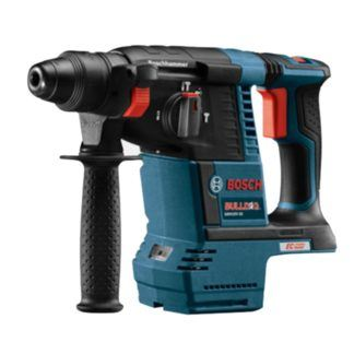 "Bosch GBH18V-26 18V EC Brushless 1"" SDS-plus Bulldog Rotary Hammer"